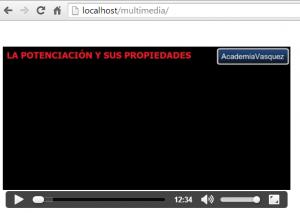 Video en html5