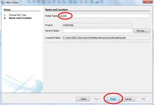 netbeans folder
