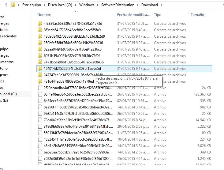 Liberar espacio Windows - Winsxs y SoftwareDistribution