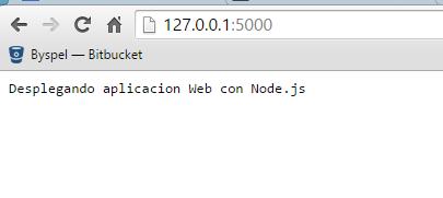 aplicacion con node
