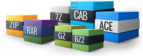 Formatos de compresión de archivos